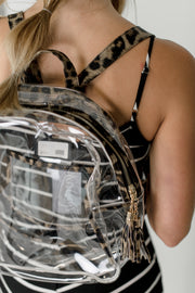 Klutch Clear Backpack