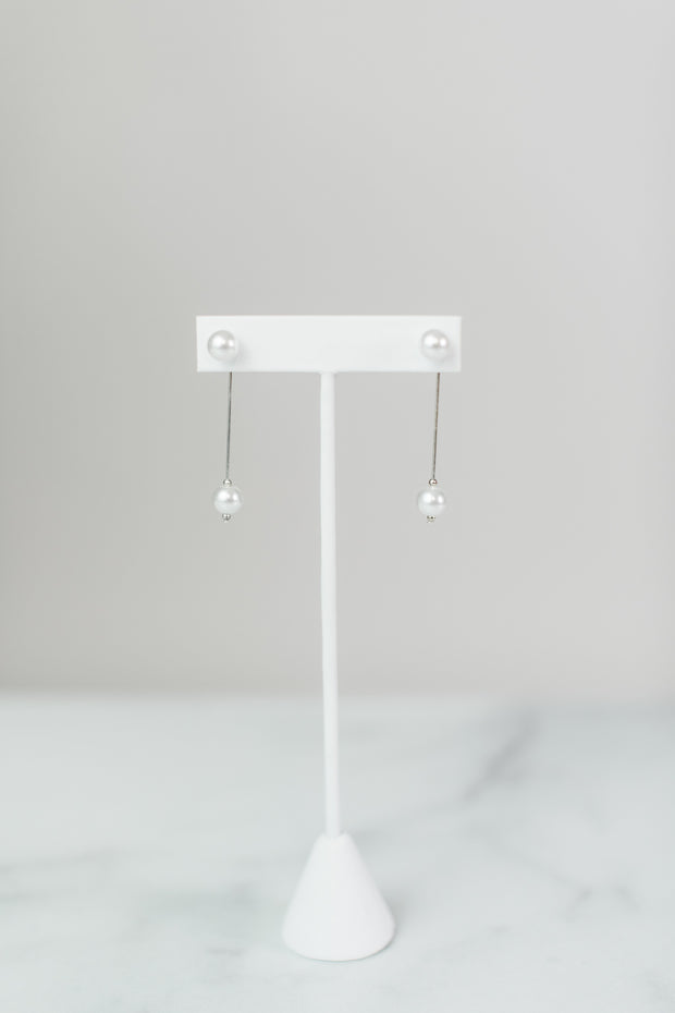 Pearl DBL Earrings