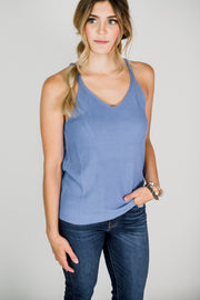 V-Neck Sweater Tank