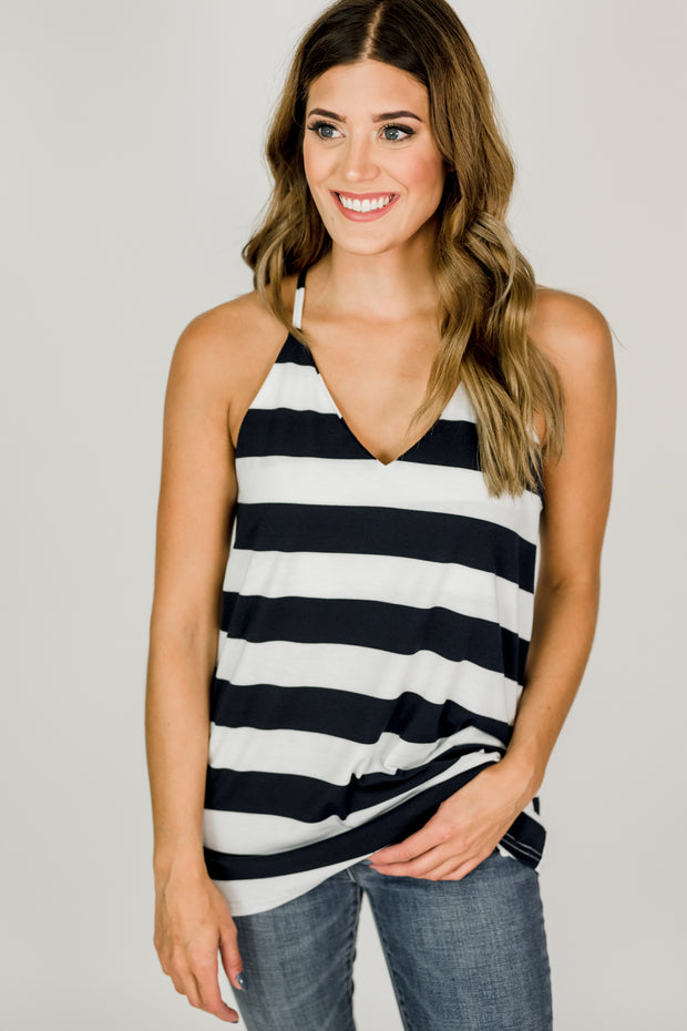 Casual Striped Tank