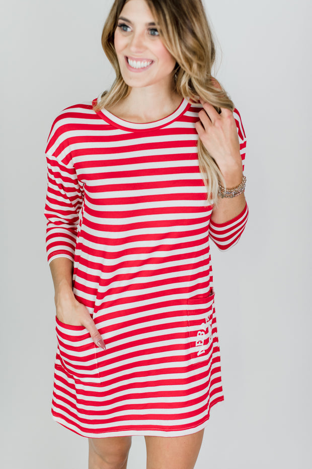 Kristin Pocket Tunic Dress