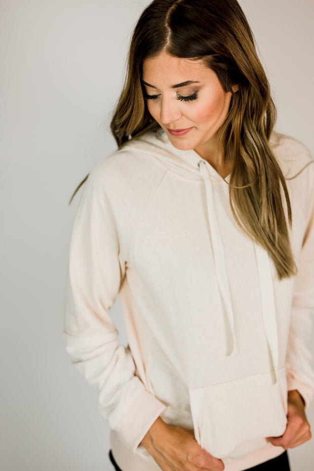 Side Ribbed Basic Sweatshirt