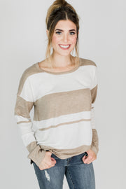 Genoa Striped Sweater
