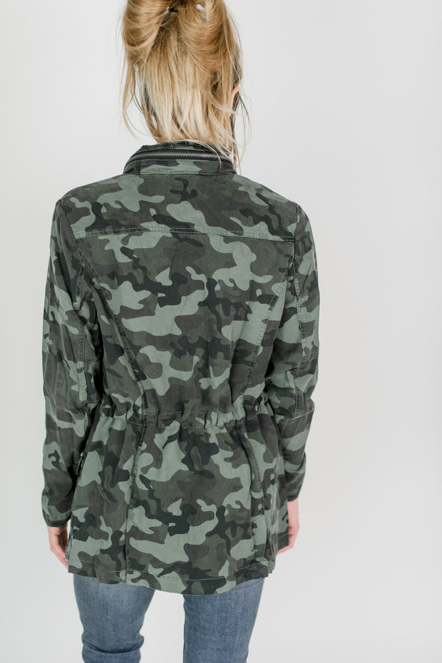 Dear John Jenny Military Camo Jacket