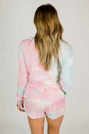 Cotton Candy Tie Dye Lounge Set