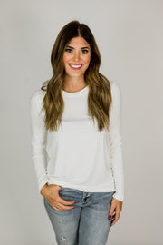 Basic Super Soft Round Neck Tee