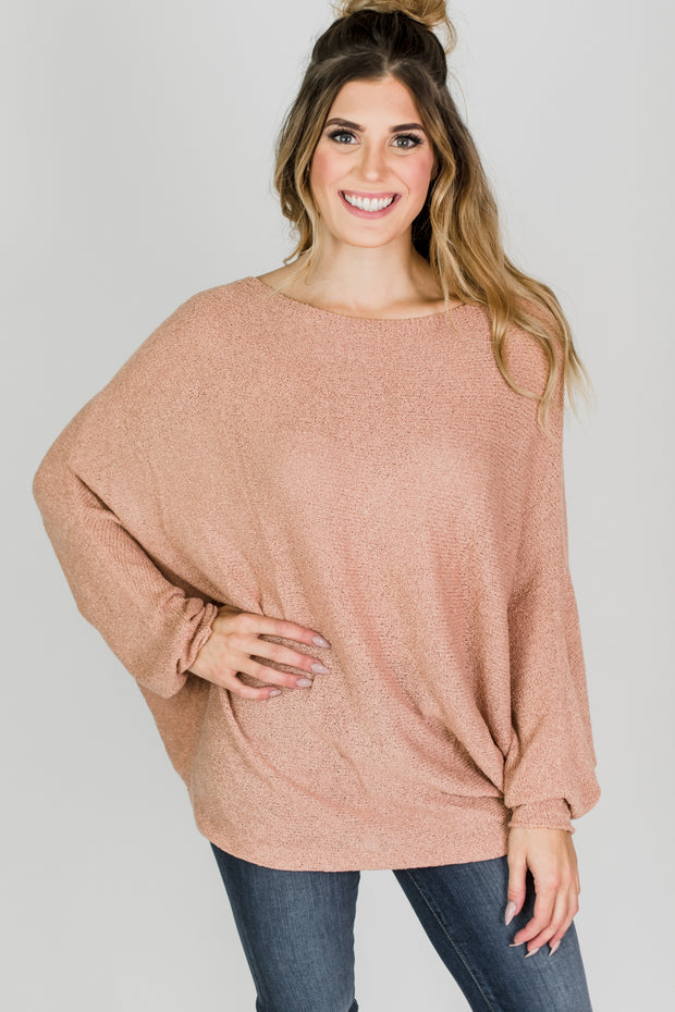 Pink Ginger Light Knit Sweater