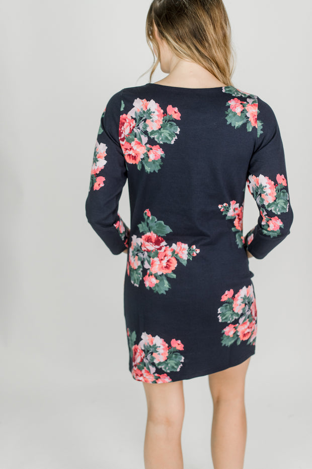 Joules Quinn Floral Tunic Dress