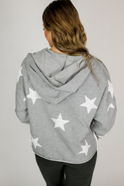 Side Tape Trim Star Sweatshirt