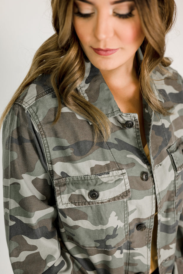 Thread & Supply Mickie Camo Jacket