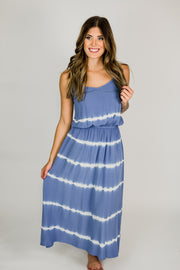 Gradient Tie Dye Maxi Dress