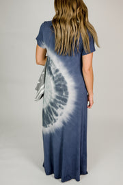Loose Fit Tie Dye Dress