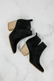Beast Abby Black Cut Out Bootie