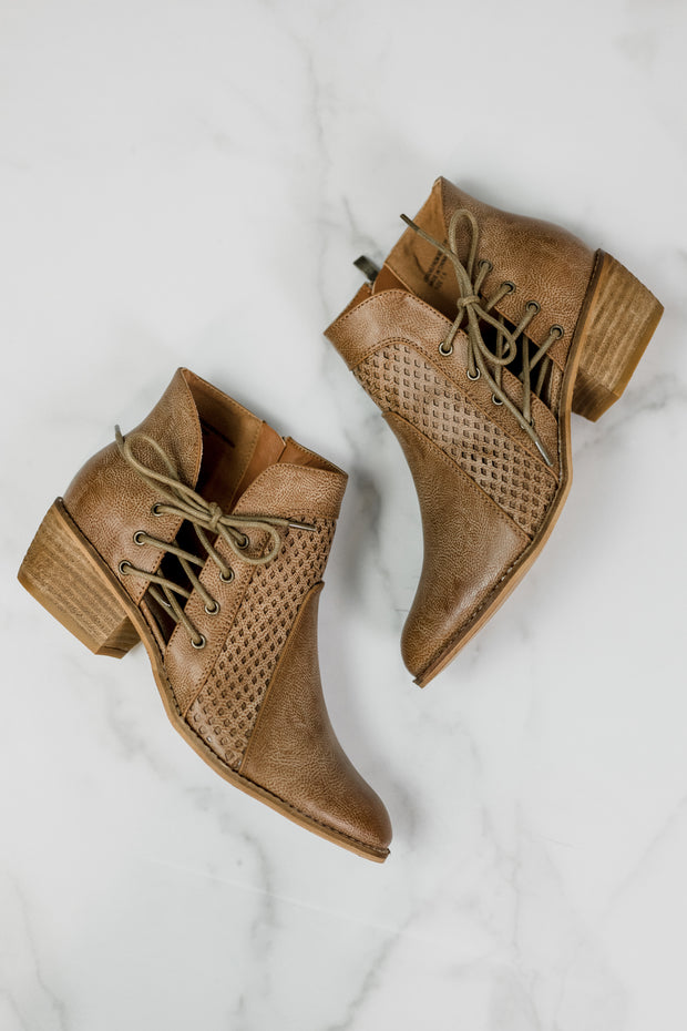 Beast Lincoln Lace Up Bootie
