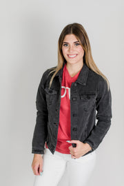 KanCan Black Denim Jacket