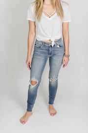 KanCan Distressed Super Skinny