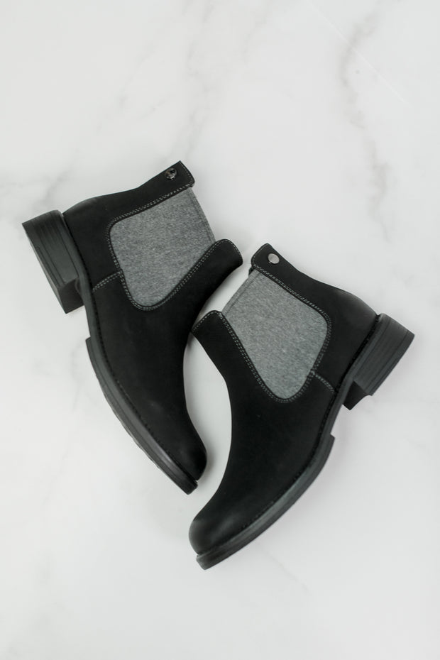 Pull-On Chelsea Booties