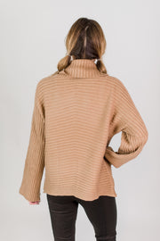 Dolman Sleeve Turtleneck
