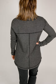 Husker Funnel Neck Fleece Sweatshirt