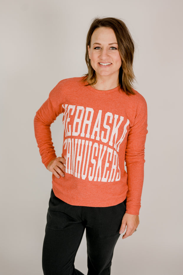 Nebraska Super Soft Sweater