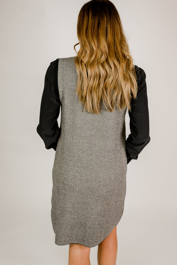 Sweater Dress w/ Pockets
