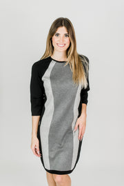 Vertical Color block Dress