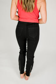 Liverpool Chloe Moto Pull On Legging