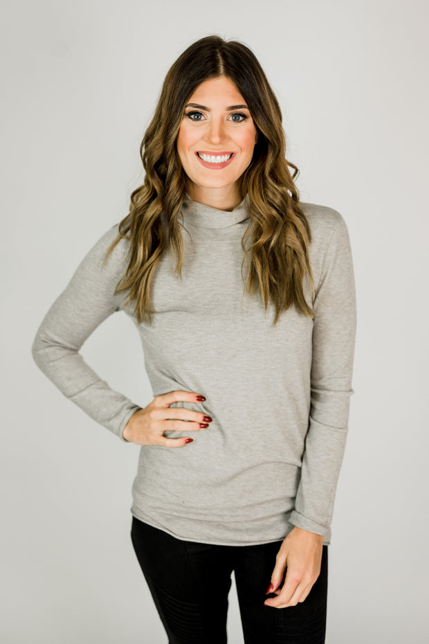 Long Sleeve Basic Turtleneck