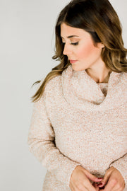 Slouchy Cowl Neck Sweater