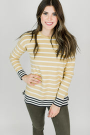 Joules Uma Striped Top