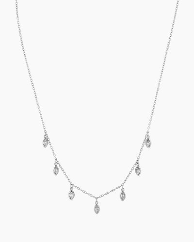 Florence Silver Necklace