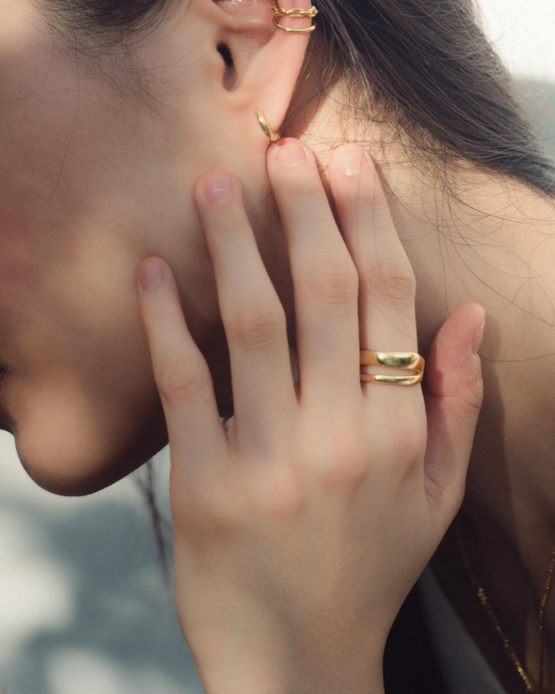 Ella 18K Gold Vermeil Ring