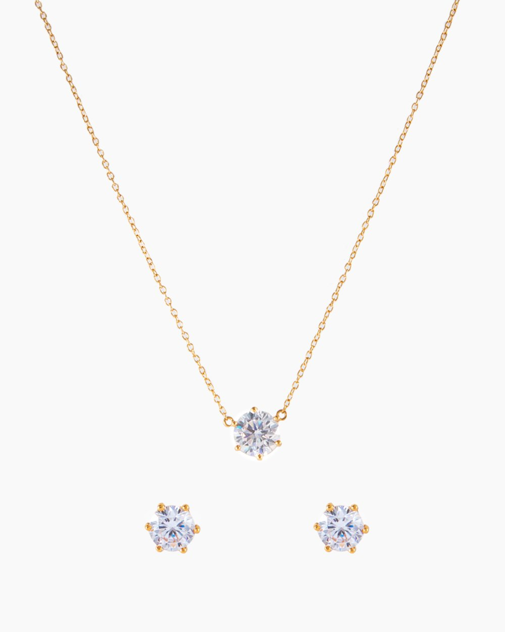Solitaire Gold Set