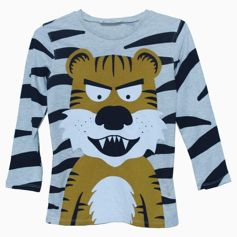 HnM Boys Tiger print full sleeves tshirt