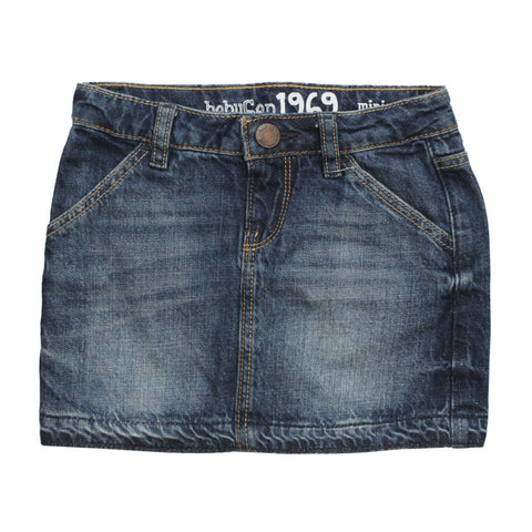 BABY GAP  Denim Bottom Stitch Styled Denim Skirt