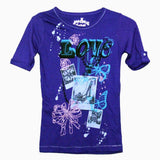 Sugah & honey purple love t-shirt