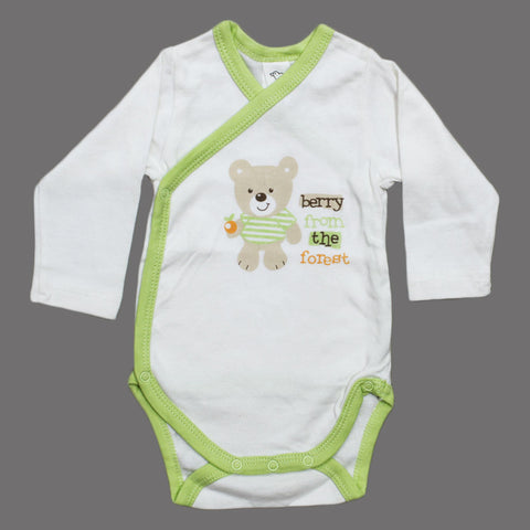 BABY CLUB Berry Forest Wrap Style Cotton Boys Romper
