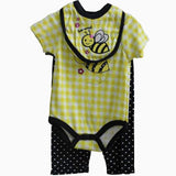 Swiggles honey Bee Romper