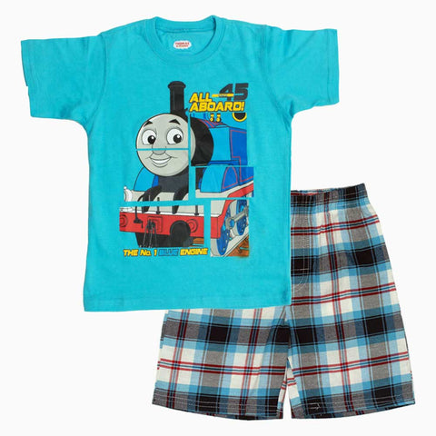 Thomas All Aboard Light Blue 2 Piece Set