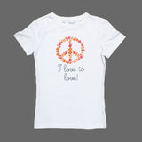 Okaidi Love to Travel Gorls Premium Cotton Tshirt