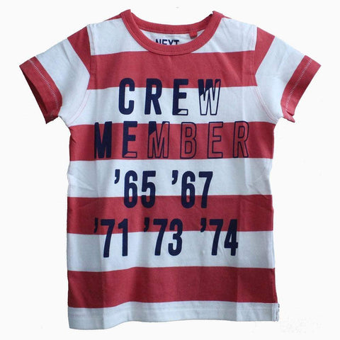 Next Red & White Stripes T-shirt