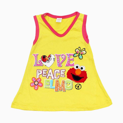 ELMo Love Girls Yellow Dress
