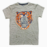 DMB Boys Go Wild Heather Grey Premium Cotton Tshirt