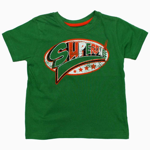 SuperDude Boys Green Tshirt