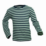 HnM Boys Blue and Grey stripes Full Sleeves Tshirt