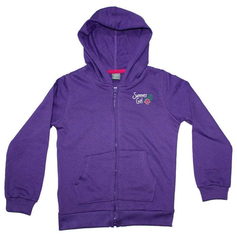 URB Summer Girl Purple French Terry Hoodie