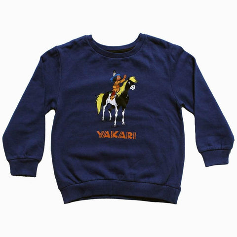 Yakari Boys Blue Sweat shirt