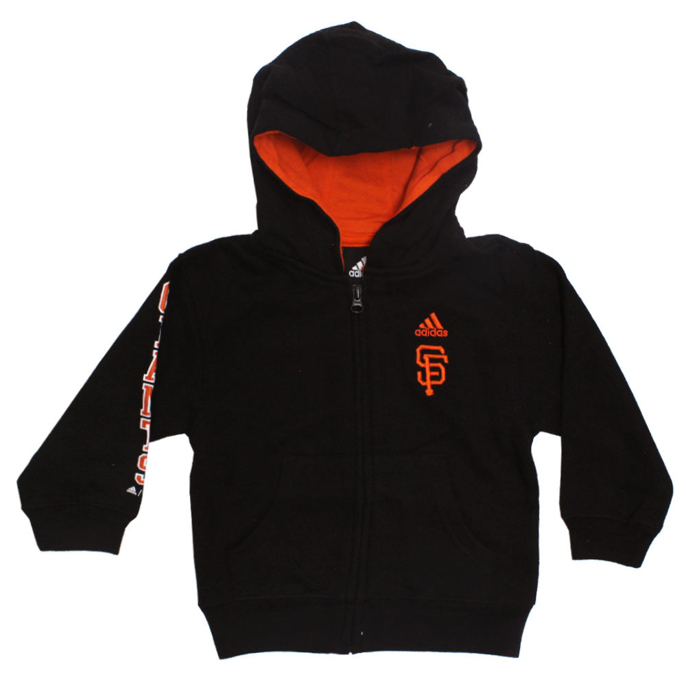 ADIDAS Sf Embroidery Black Boys Cotton Hoodies