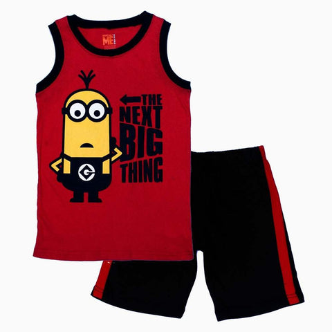 Minions Next Big Thing Red Boys 2 pieceSet