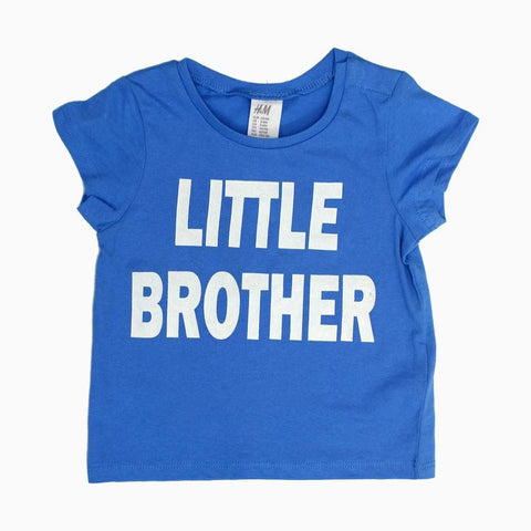 HnM Little Brother Boys Blue Tshirt